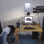 Computeranlæg mit computer anlæg