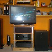 Hjemmebiograf Marantz AV 7005, Audiolab & Monitor Audio