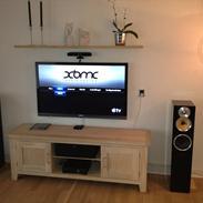 Musikanlæg Stereo TV Stue B&W, XTZ, Apple og Sony