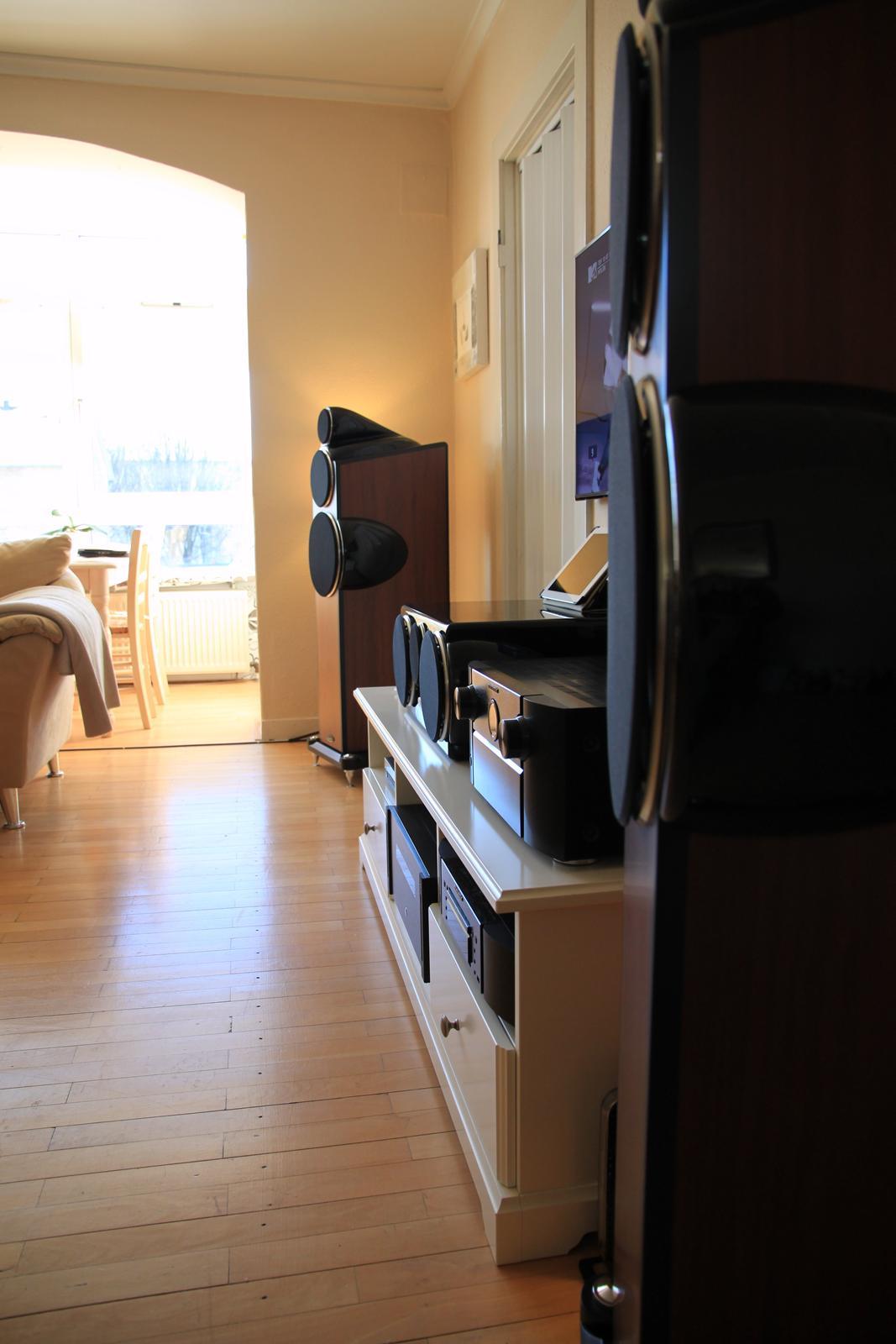 Hjemmebiograf 7.1 /stereo (Marantz - Emotiva - Vincent) billede 7