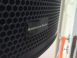 Diskoteksanlæg American audio