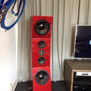 Musikanlæg Mit Hifi setup med diy højttalere