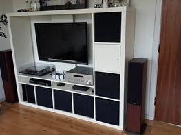 Musikanlæg Monitor audio bx5/yamaha r-s700