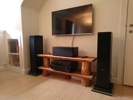 Hjemmebiograf Monitor audio + Bower & Wilkins + Yamaha rx v661