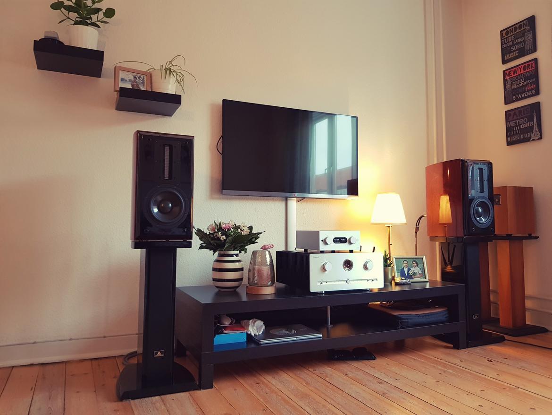 Musikanlæg Aurum Cantus Volla / Vincent SV-700 / Audiolab /  billede 1