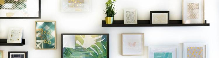 Gør dit hjem personligt med en billedvæg