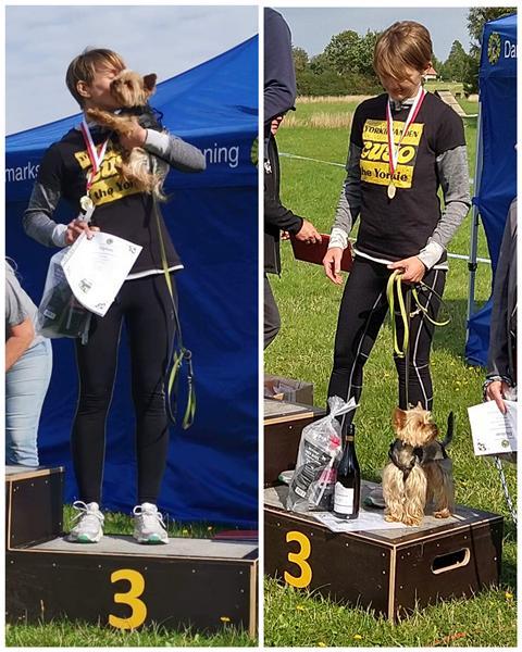 Stolthed  -  K9-Biathlon