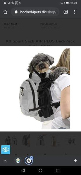 K9 hunde rygsæk