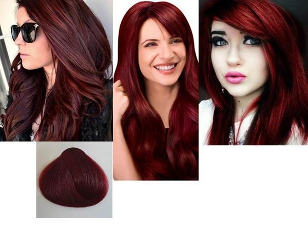 hårfarve til mørkt hår
