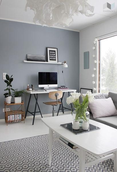 Inspiration til vægfarve i stue. - Skrevet af Anne Julie F