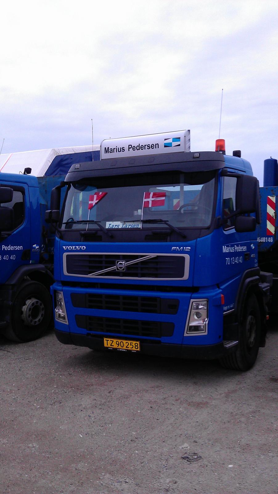 Billeder fra min tid ved Marius Pedersen, Esbjerg - Diverse lastbil - Fotos fra Smølfen