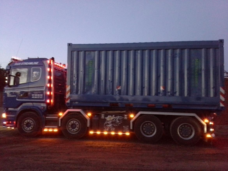 lastbil lys