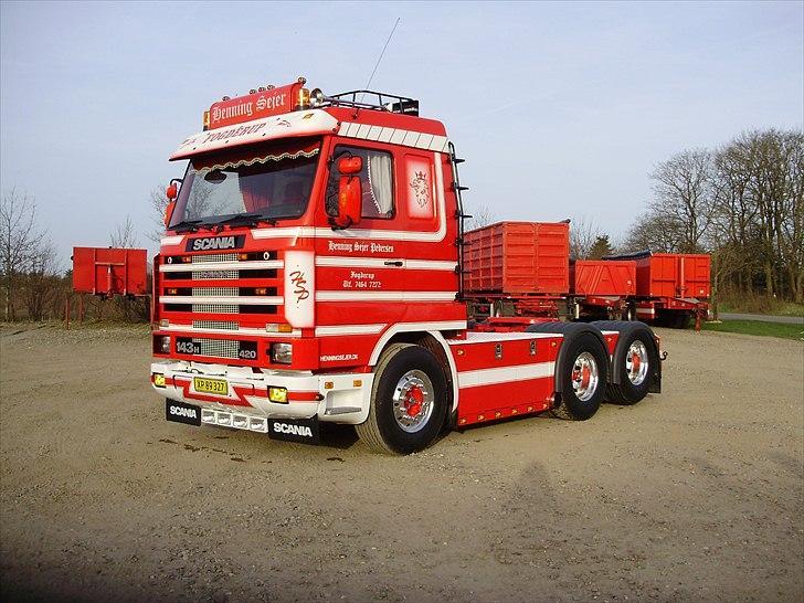 Scania 143 6x2 - Det færdige resultat :) billede 1