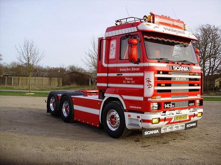 Scania 143 6x2 billede 2