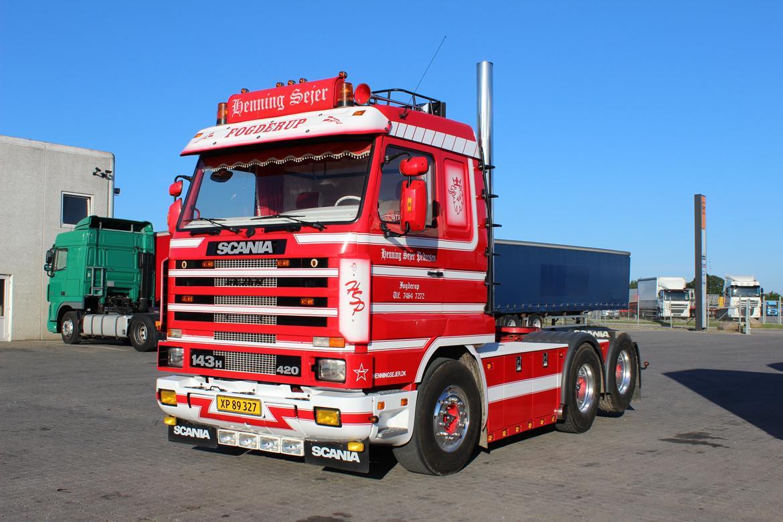 Scania 143 6x2 billede 14