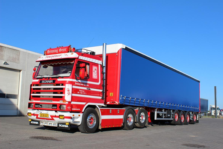 Scania 143 6x2 billede 15