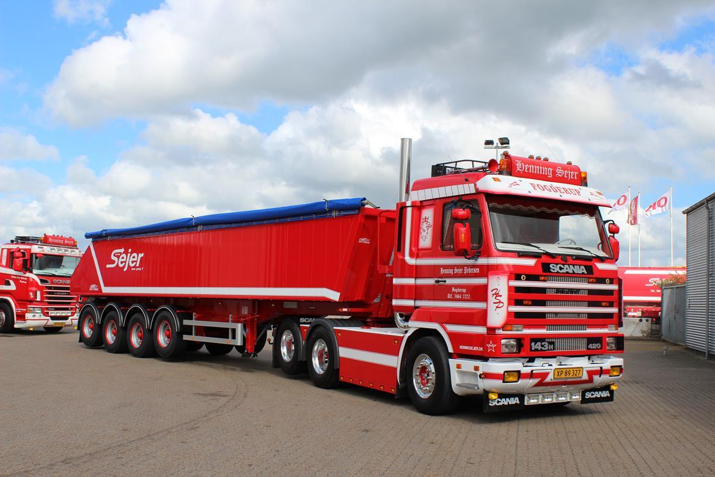 Scania 143 6x2 billede 17