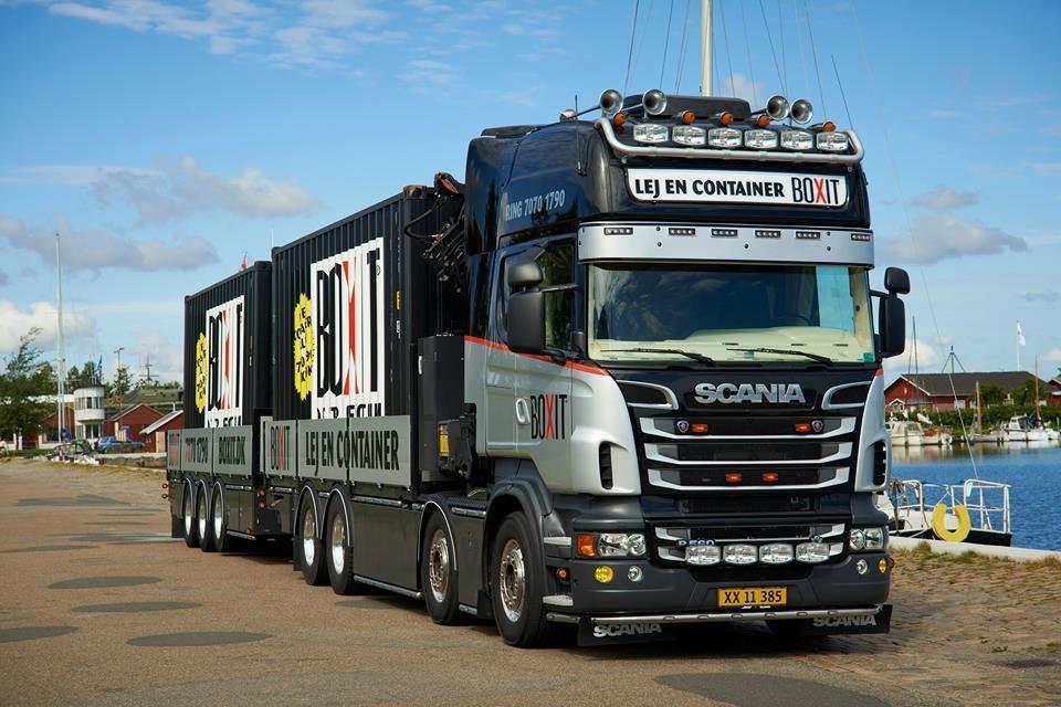 Scania R 560 Topline 8x2 billede 7