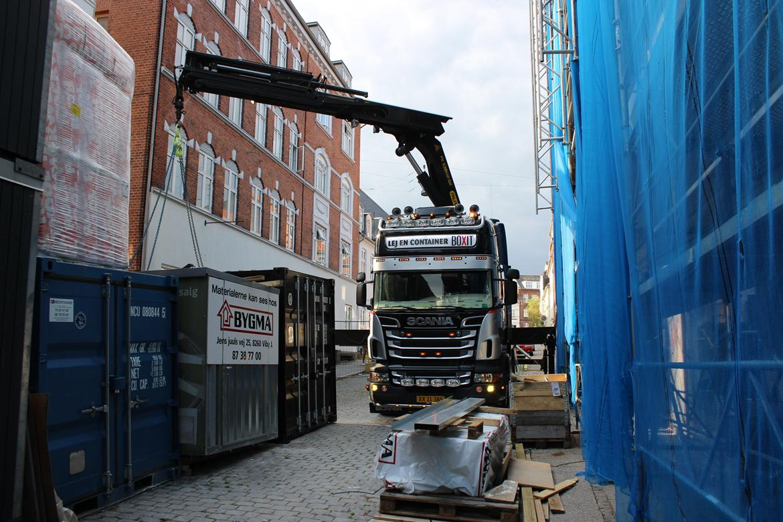 Scania R 560 Topline 8x2 - Århus C... Byggekaos. billede 4