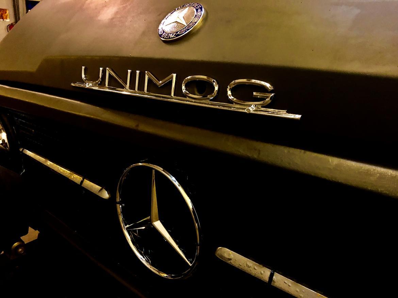 Mercedes Unimog 406 billede 9