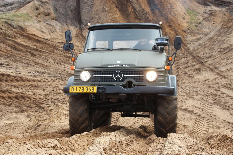 Mercedes Unimog 406 billede 4
