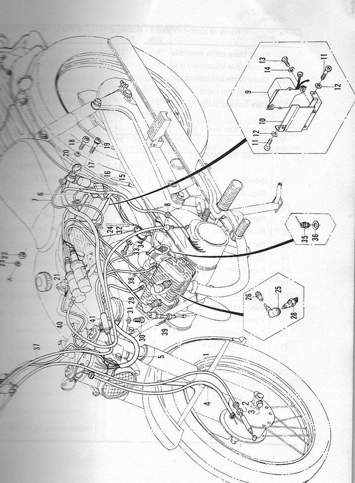 yamaha yl1 twin jet v�rksteds manual billede 67: yamaha yg1 wiring diagram  at hrqsolutions