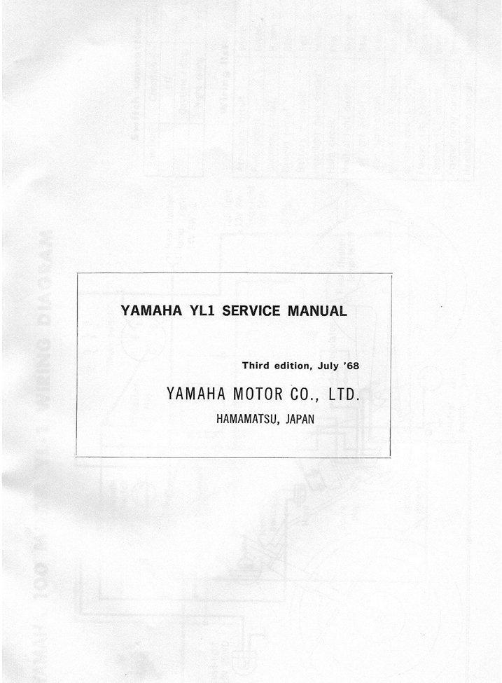 Yamaha Yl1 Wiring Diagram : Triumph motorcycle wiring diagram boyer ignition