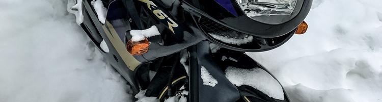 Vask og rengør din motorcykel inden vinteropbevaring