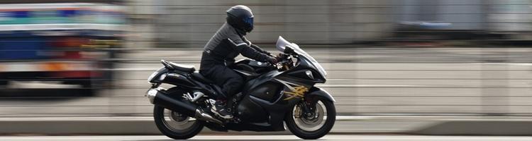 Få ro når du sidder på motorcyklen