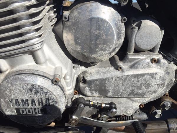 polering af motorcykel