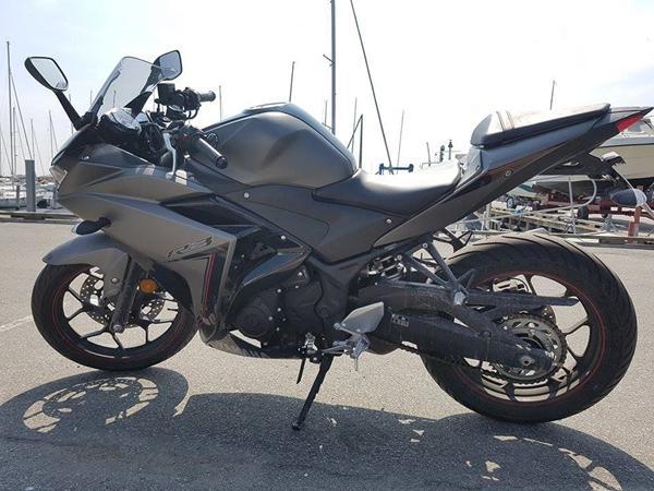 Vask af motorcykel, første gang
