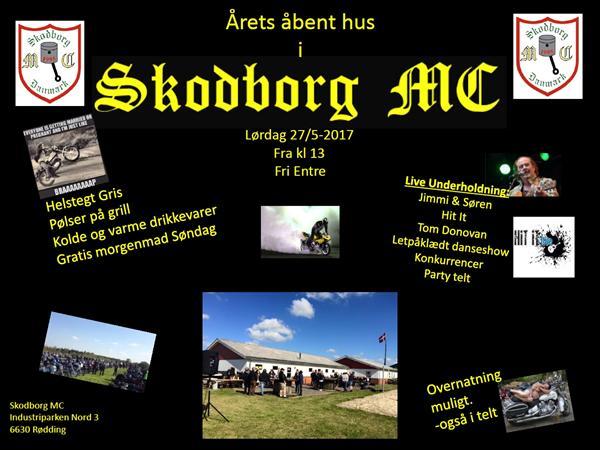 Kom til Åbent hus i Skodborg MC