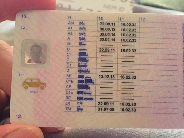 Kørekort politifejl