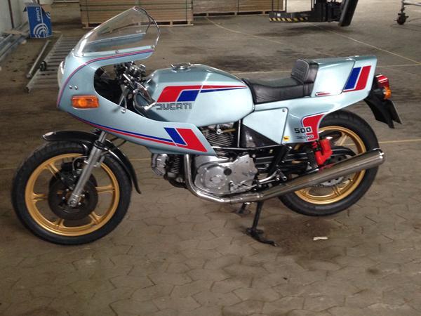 Aftermarket/replika udstødning til Ducati Pantah?