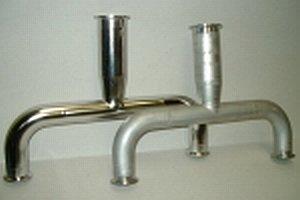 Polering rustfrit stål