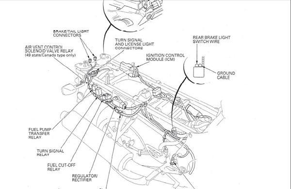 Ensretter Honda Cbr 600 1999