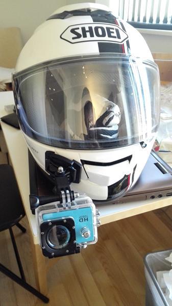 action kamera til hjelm