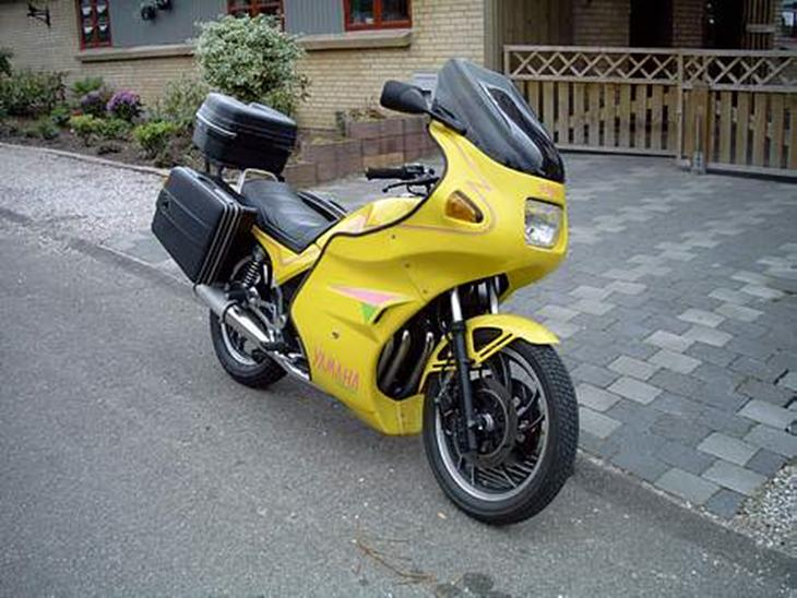 yamaha xj 750 seca 1982 en l kker touring bike man al. Black Bedroom Furniture Sets. Home Design Ideas