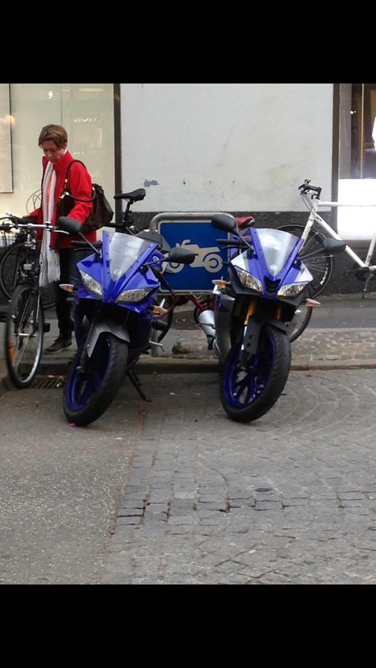Yamaha YZF R125 billede 9