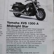 Yamaha midnightstar 1300A