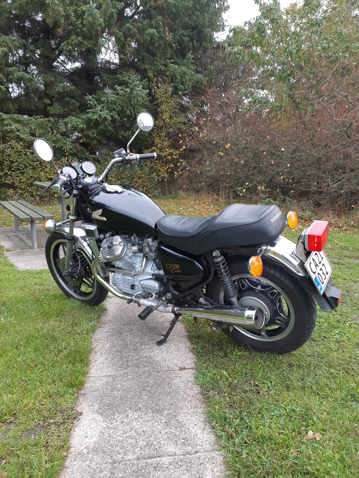 Honda cx 500 c billede 1