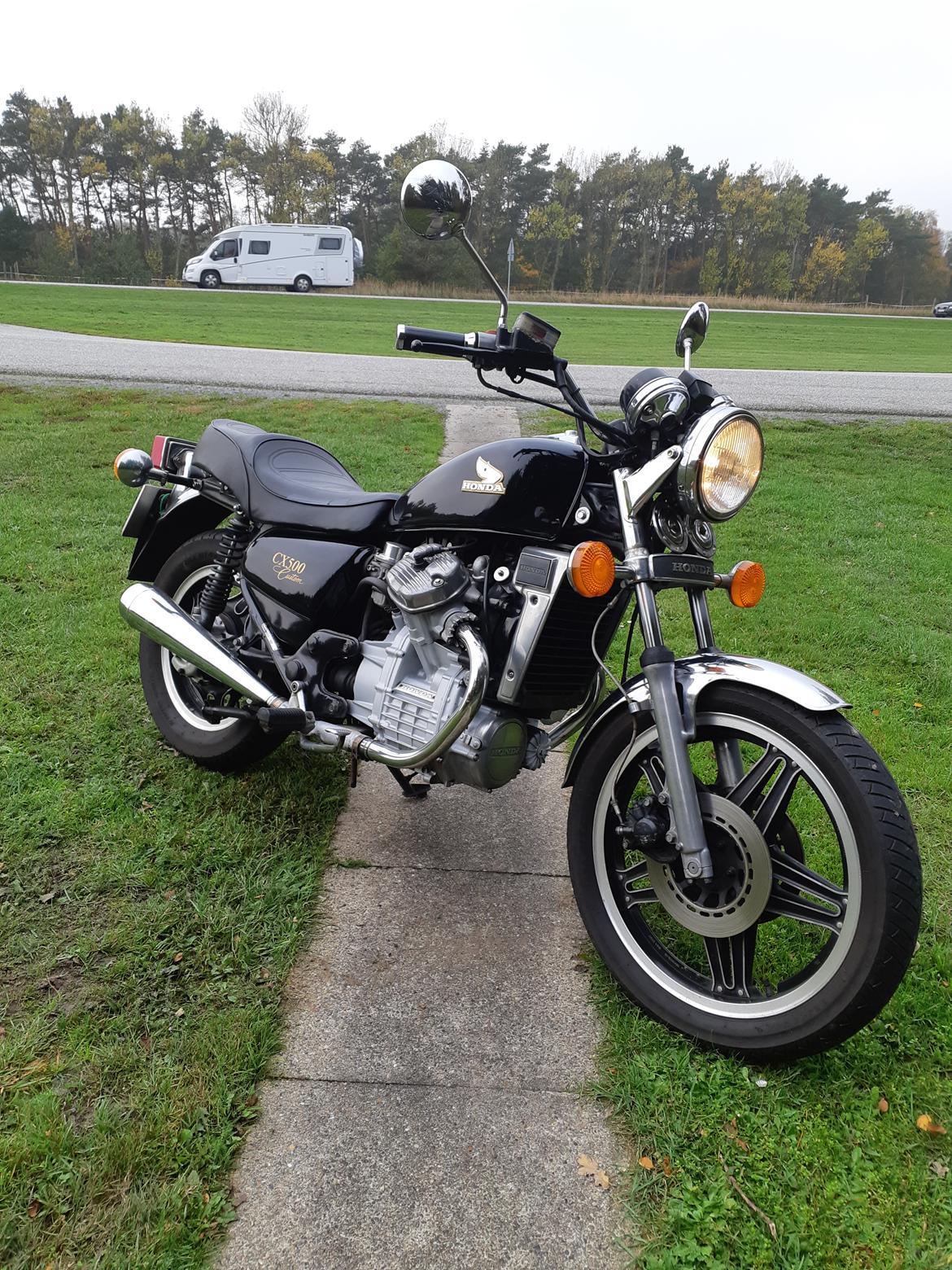Honda cx 500 c billede 2