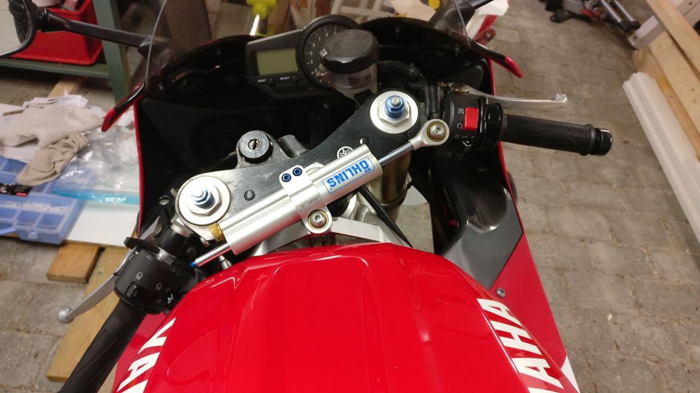 Yamaha R1 RN04 5jj billede 14