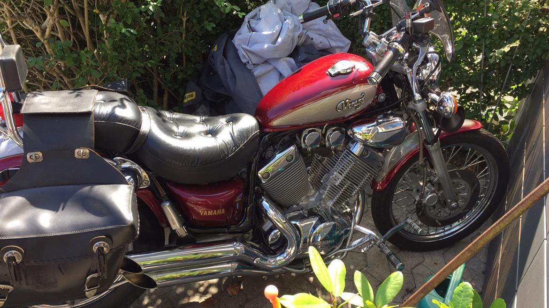 Yamaha Virago xv535 SOLGT billede 4