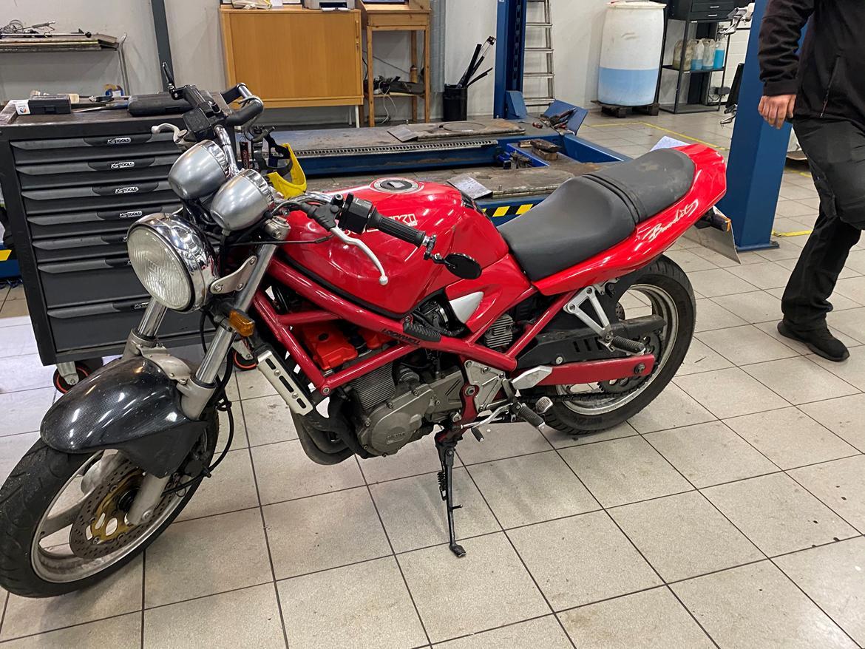 Suzuki Gsf 400 bandit billede 13