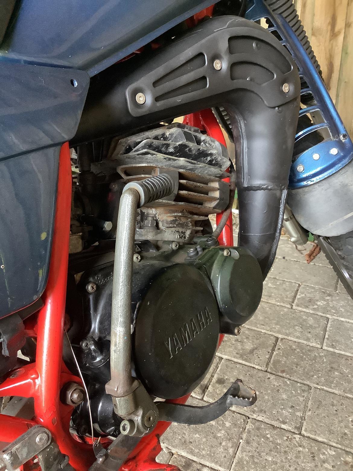 Yamaha DT 175 billede 8