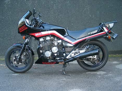 Honda CBX 750 F - Min Baby Efteråret 2006 billede 2