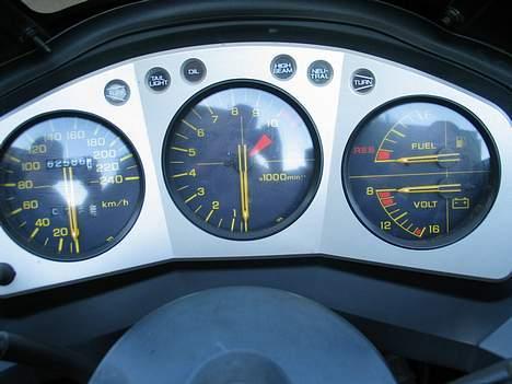 Honda CBX 750 F - Fars Instrumentbord :-) billede 6