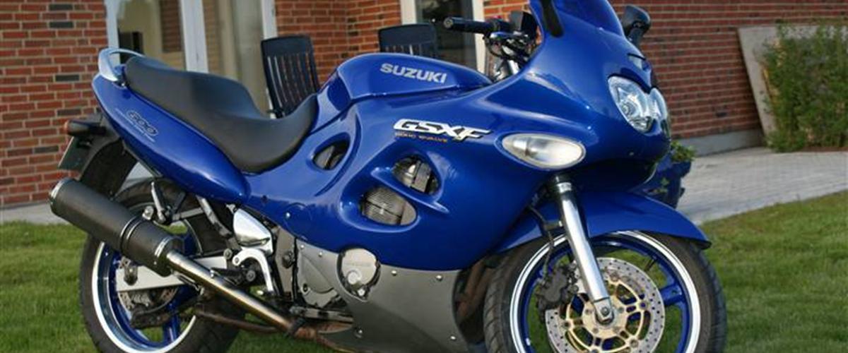 1998 Suzuki GSX 600 F - Moto.ZombDrive.COM