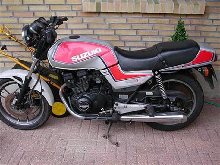 Suzuki gsx 250 ES *solgt* - 1984 - Tja den startede med at være ...
